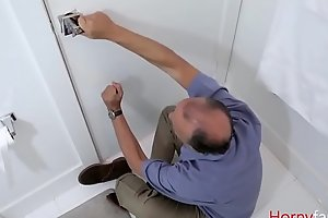 Locked up husband to fuck son freely