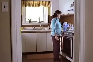 Best for Last - Cute Breastmilk Solo Kitchen Scene (non-nude)