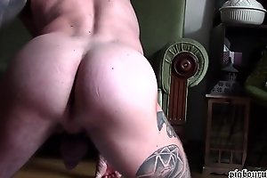PIGBOY GETTING HORNY JERK OFF AND DRINKING PISS