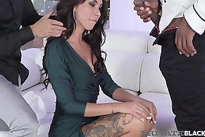 PrivateBlack - Hot Katrin Tequila DPd By Black &amp_ White Cocks