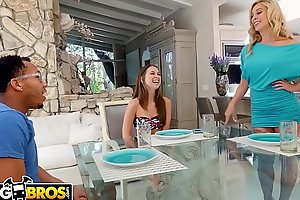 BANGBROS - Stepmom Cherie Deville Fucks Riley Reid&rsquo_s Black Boyfriend, Ricky Johnson