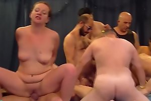 brutal german fist and fuck groupsex orgy