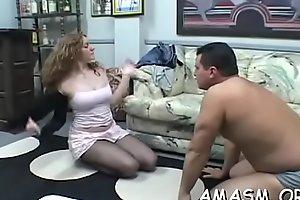 Nasty sweetheart gets honey pot loving action