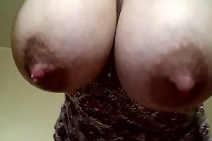 Dangling Swollen Breasts
