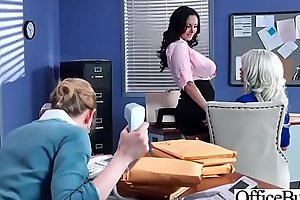 Hot Nasty Cute Girl (Ava Addams &amp_ Riley Jenner) With Big Juggs Like Sex In Office vid-06