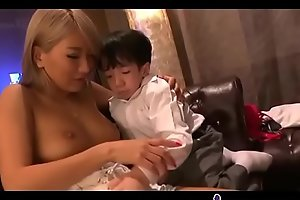 Asian legal age teenager jack off midget dong