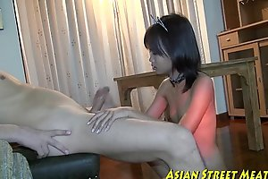 Small tittie thai unfocused jiggered to botty