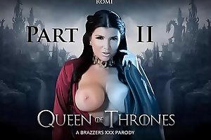Brazzers - Queen Of Thrones Part 2 (A XXX Parody) Romi Rain &ndash_ Game Of Throne