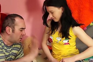 Teenyplayground 18yo inexperienced virginal legal age teenager drilled hard by her aged teacher