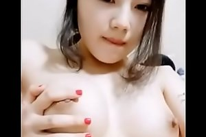 Chinese Art School Student Showing off herself 01