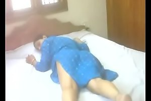 #NaziaPathan Indian arab housewife undressing herself and masturbating - part 2/2