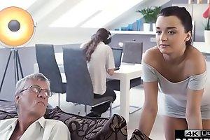 Old Man Taboo Bonks His Sons Girlfriend In Same Room