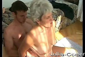 She's still horny at fucking with her 73 years.