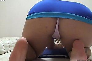 Webcams Japanese Girl Karen Panties and Buttocks