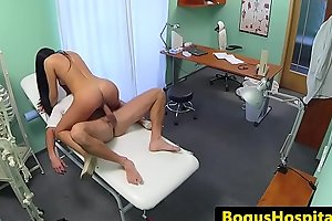 Amateur patient licked by examining doctor